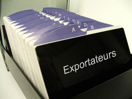 Fichier des exportateurs alg riens for Chambre algerienne de commerce
